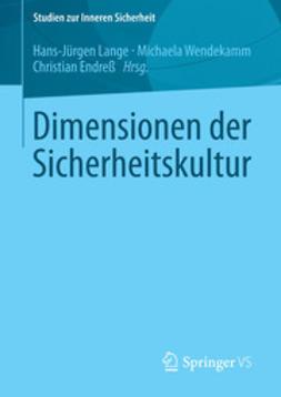 Lange, Hans-Jürgen - Dimensionen der Sicherheitskultur, ebook