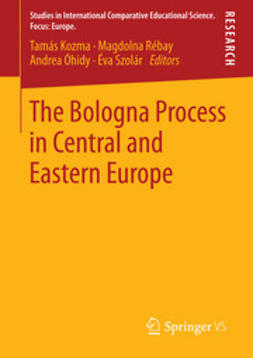 Kozma, Tamás - The Bologna Process in Central and Eastern Europe, ebook