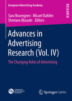Rosengren, Sara - Advances in Advertising Research (Vol. IV), ebook