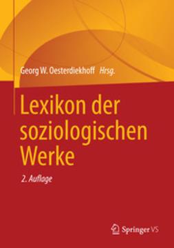 Oesterdiekhoff, Georg W. - Lexikon der soziologischen Werke, ebook