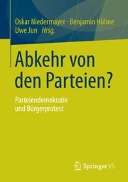 Niedermayer, Oskar - Abkehr von den Parteien?, ebook