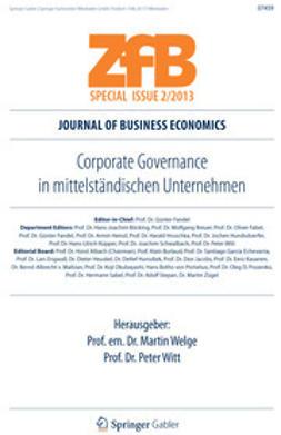 Welge, Martin - Corporate Governance in mittelständischen Unternehmen, ebook