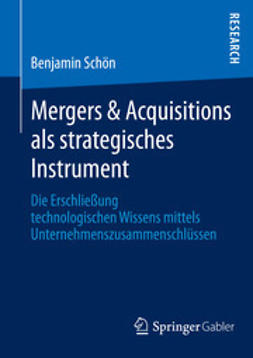 Schön, Benjamin - Mergers & Acquisitions als strategisches Instrument, ebook