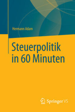 Adam, Hermann - Steuerpolitik in 60 Minuten, ebook