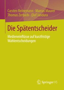 Reinemann, Carsten - Die Spätentscheider, ebook