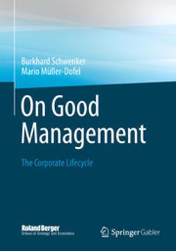 Schwenker, Burkhard - On Good Management, ebook