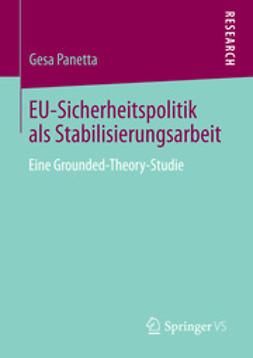 Panetta, Gesa - EU-Sicherheitspolitik als Stabilisierungsarbeit, ebook