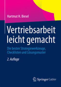 Biesel, Hartmut H. - Vertriebsarbeit leicht gemacht, ebook
