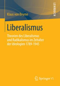 Beyme, Klaus von - Liberalismus, ebook