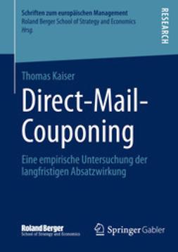 Kaiser, Thomas - Direct-Mail-Couponing, e-kirja