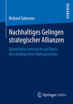 Salomon, Richard - Nachhaltiges Gelingen strategischer Allianzen, ebook