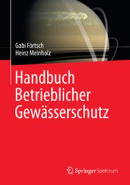 Förtsch, Gabi - Handbuch Betrieblicher Gewässerschutz, ebook