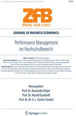 Dilger, Alexander - Performance Management im Hochschulbereich, ebook