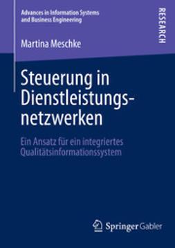 Meschke, Martina - Steuerung in Dienstleistungsnetzwerken, ebook
