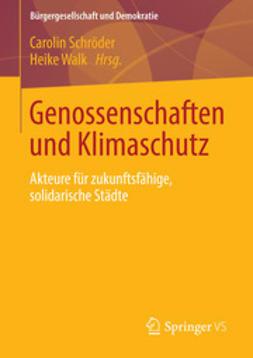 Schröder, Carolin - Genossenschaften und Klimaschutz, ebook