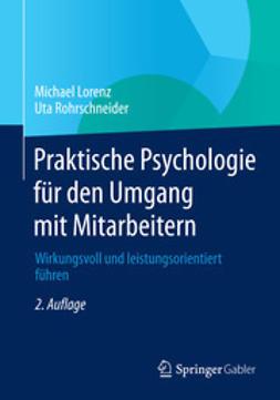 Lorenz, Michael - Praktische Psychologie für den Umgang mit Mitarbeitern, ebook