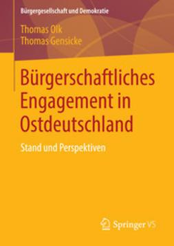 Olk, Thomas - Bürgerschaftliches Engagement in Ostdeutschland, ebook