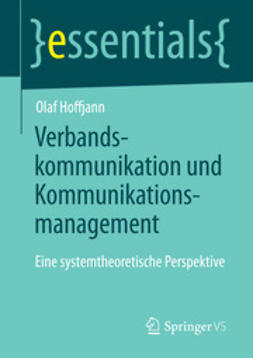 Hoffjann, Olaf - Verbandskommunikation und Kommunikationsmanagement, ebook