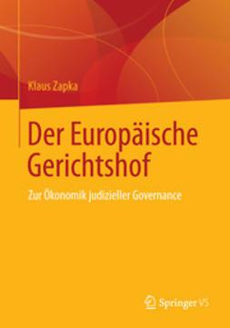 Zapka, Klaus - Der Europäische Gerichtshof, ebook