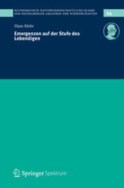 Mohr, Hans - Emergenzen auf der Stufe des Lebendigen, ebook