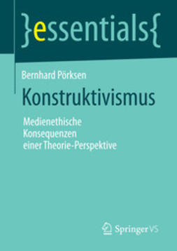 Pörksen, Bernhard - Konstruktivismus, ebook