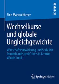 Körner, Finn Marten - Wechselkurse und globale Ungleichgewichte, ebook