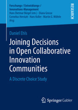 Ehls, Daniel - Joining Decisions in Open Collaborative Innovation Communities, e-kirja