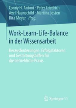 Antoni, Conny H. - Work-Learn-Life-Balance in der Wissensarbeit, ebook