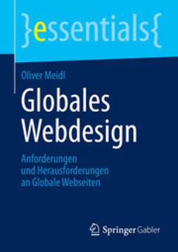 Meidl, Oliver - Globales Webdesign, e-bok
