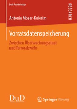 Moser-Knierim, Antonie - Vorratsdatenspeicherung, ebook