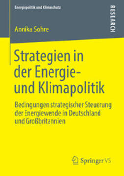 Sohre, Annika - Strategien in der Energie- und Klimapolitik, ebook