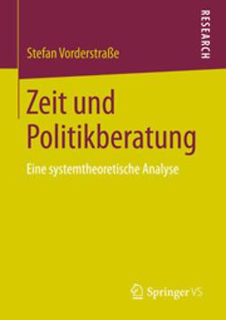 Vorderstraße, Stefan - Zeit und Politikberatung, ebook