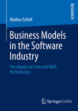Schief, Markus - Business Models in the Software Industry, ebook