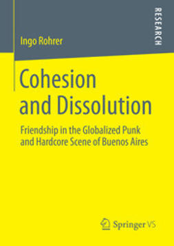 Rohrer, Ingo - Cohesion and Dissolution, ebook