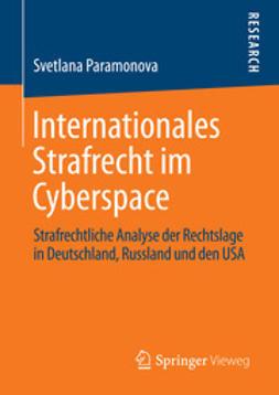 Paramonova, Svetlana - Internationales Strafrecht im Cyberspace, ebook