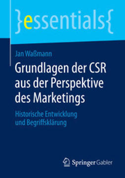 Waßmann, Jan - Grundlagen der CSR aus der Perspektive des Marketings, ebook