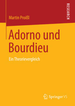 Proißl, Martin - Adorno und Bourdieu, e-bok