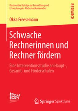 Freesemann, Okka - Schwache Rechnerinnen und Rechner fördern, ebook
