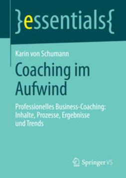 Schumann, Karin - Coaching im Aufwind, e-kirja