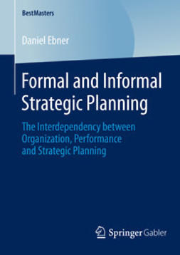 Ebner, Daniel - Formal and Informal Strategic Planning, ebook