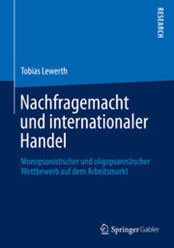 Lewerth, Tobias - Nachfragemacht und internationaler Handel, ebook
