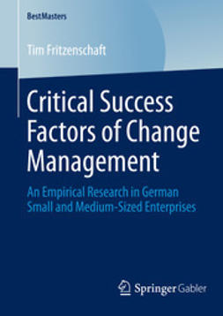 Fritzenschaft, Tim - Critical Success Factors of Change Management, ebook