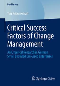 Fritzenschaft, Tim - Critical Success Factors of Change Management, ebook