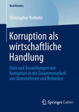 Redwitz, Christopher - Korruption als wirtschaftliche Handlung, ebook