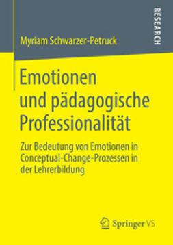 Schwarzer-Petruck, Myriam - Emotionen und pädagogische Professionalität, ebook