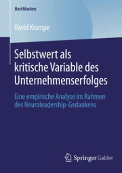Krampe, David - Selbstwert als kritische Variable des Unternehmenserfolges, ebook