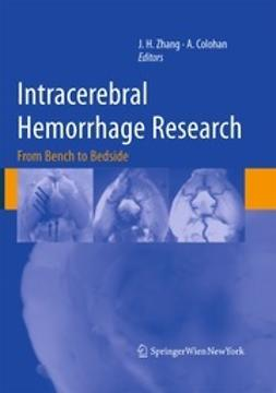 Zhang, John - Intracerebral Hemorrhage Research, e-bok