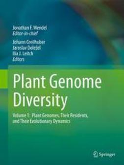 Wendel, Jonathan F. - Plant Genome Diversity Volume 1, ebook
