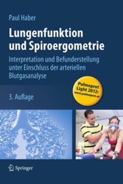 Haber, Paul - Lungenfunktion und Spiroergometrie, ebook