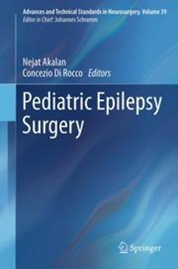 Akalan, Nejat - Pediatric Epilepsy Surgery, ebook